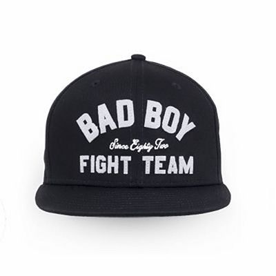 Bad Boy Fight Team Snapback Hat Black