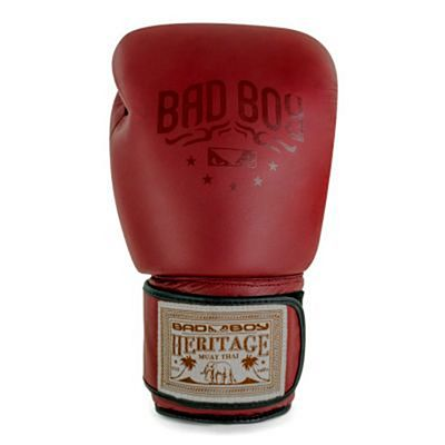 Bad Boy Heritage Thai Boxing Gloves Rosso
