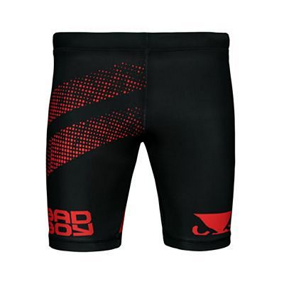 Bad Boy Impact Long Vale Tudo Shorts Schwarz-Rot