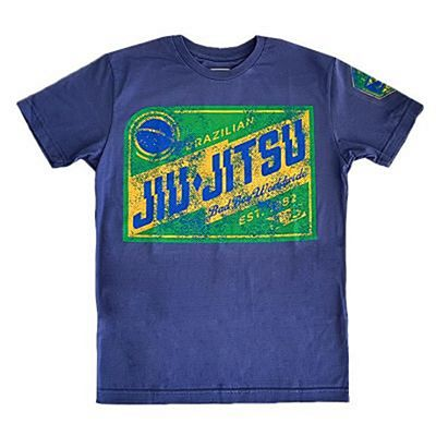 Bad Boy Jiu Jitsu T-shirt Blu