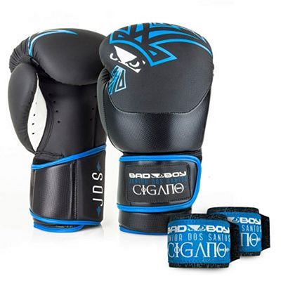 Bad Boy Junior Dos Santos Boxing Gloves Negro-Azul