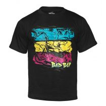 Bad Boy Kids Throw Back Tee Schwarz