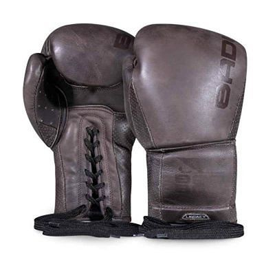Bad Boy Legacy 2.0 Boxing Gloves Lace Up Marron