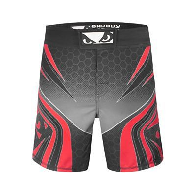 Bad Boy Legacy Evolve Shorts Schwarz-Rot