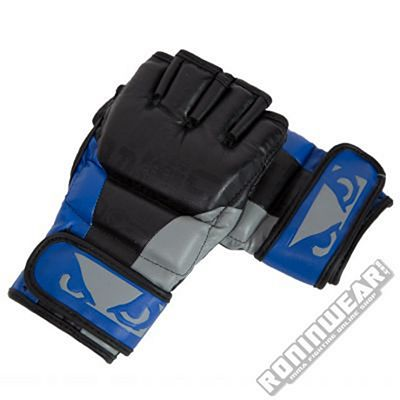 Bad Boy Legacy MMA Gloves Negro-Azul