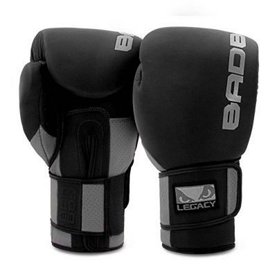 Bad Boy Legacy Prime Boxing Gloves Negro-Gris