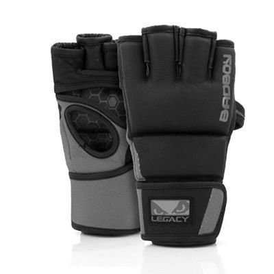 Bad Boy Legacy Prime MMA Gloves Schwarz-Grau