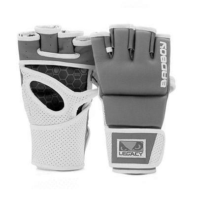 Bad Boy Legacy Prime MMA Gloves Grå-Vit