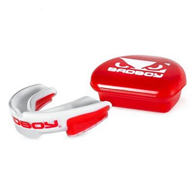 Bad Boy Multi-Sport Mouth Guard Rot-weiß