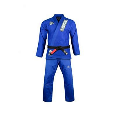 Bad Boy North-South Kids Jiu Jitsu Gi Blau