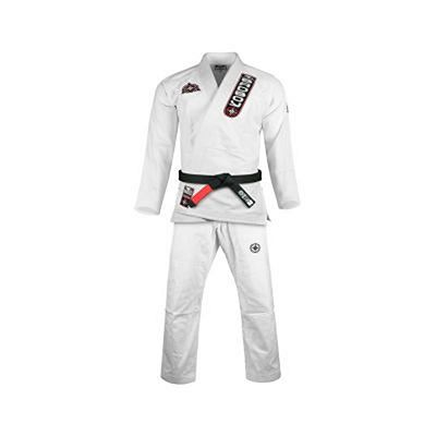 Bad Boy North-South Kids Jiu Jitsu Gi Weiß