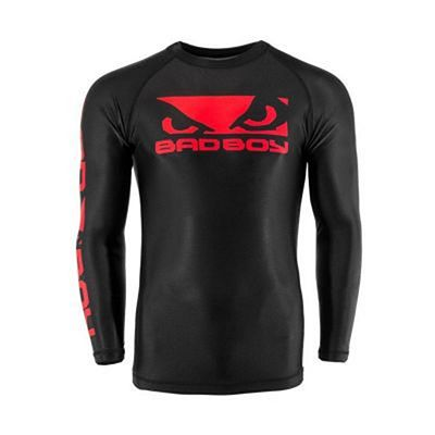 Bad Boy Origin Rashguard Long Sleeves Preto-Vermelho