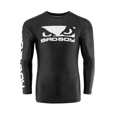 Bad Boy Origin Rashguard Long Sleeves Schwarz-weiß