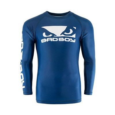 Bad Boy Origin Rashguard Long Sleeves Azul-Branco