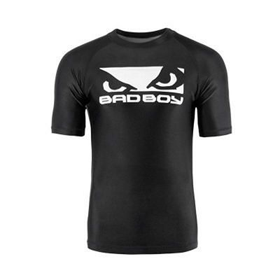 Bad Boy Origin Rashguard Short Sleeve Preto-Branco