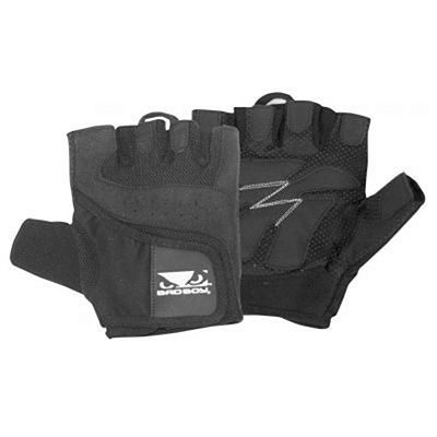 Bad Boy Premium Lifting Gloves Negro