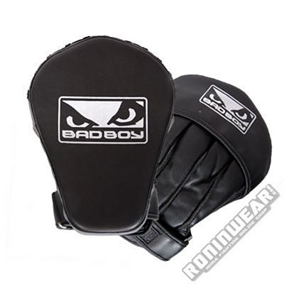 Bad Boy Pro Series 2.0 Midi Focus Mitts  Black