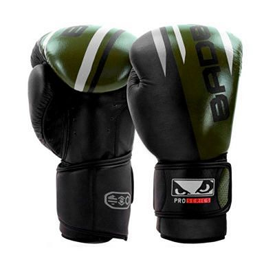 Bad Boy Pro Series Advanced Boxing Gloves Negro-Verde