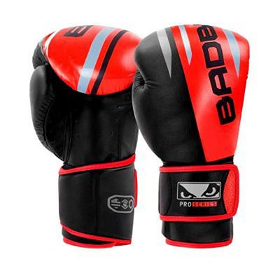 Bad Boy Pro Series Advanced Boxing Gloves Negro-Rojo