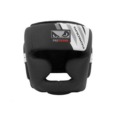 Bad Boy Pro Series Advanced Full Headguard Schwarz-weiß