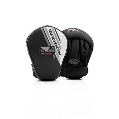 Bad Boy Pro Series Advanced Mini Focus Mitts Schwarz-weiß