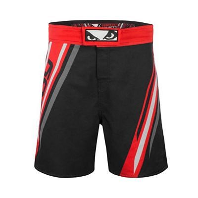Bad Boy Pro Series Advanced MMA Shorts Negro-Rojo