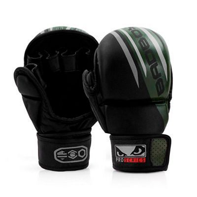 Bad Boy Pro Series Advanced Safety MMA Gloves Schwarz-Grün