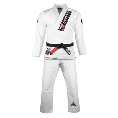 Bad Boy Pro Series Ground Control BJJ Gi Weiß