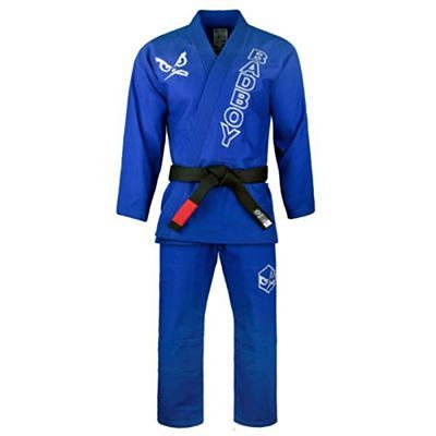 Bad Boy Limited Edition Retro BJJ Kimono Blau