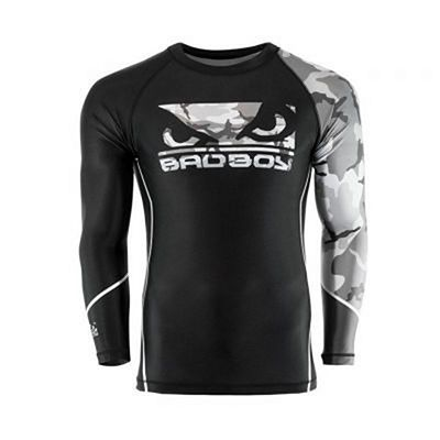 Bad Boy Soldier Rashguard Preto-Cinza