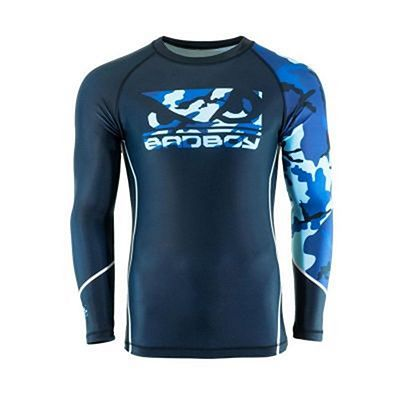 Bad Boy Soldier Rashguard Blue Azul