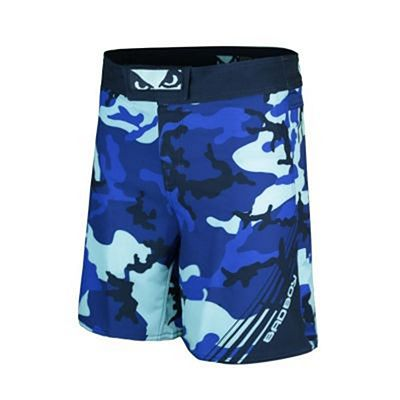 Bad Boy Soldier Training Fight Shorts Azul