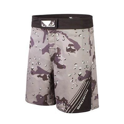 Bad Boy Soldier Training Fight Shorts Braun