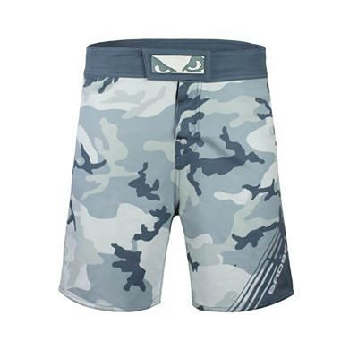 Bad Boy Soldier Training Fight Shorts Grau