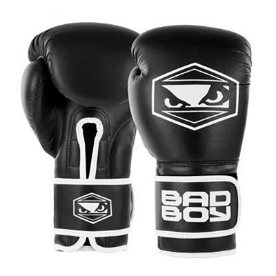 Bad Boy Strike Boxing Gloves Schwarz