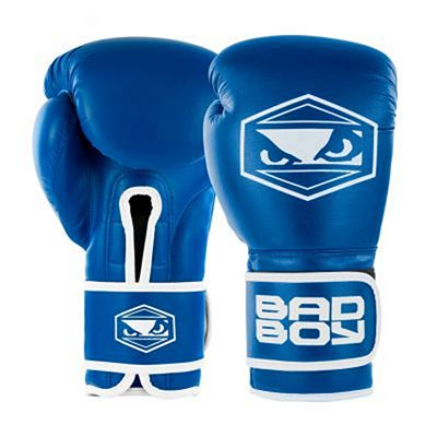 Bad Boy Strike Boxing Gloves Blue