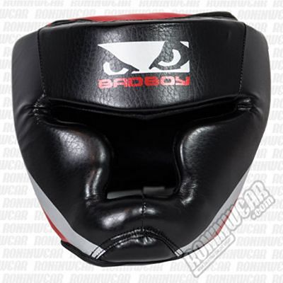 Bad Boy Training Series 2.0 Head Guard Black-Red