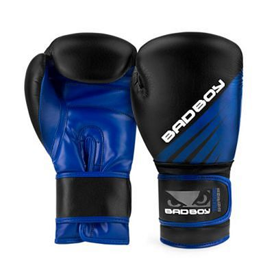 Bad Boy Training Series Impact Boxing Gloves Schwarz-Blau