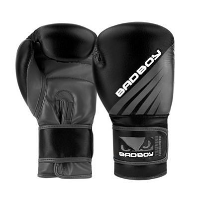Bad Boy Training Series Impact Boxing Gloves Negro-Gris