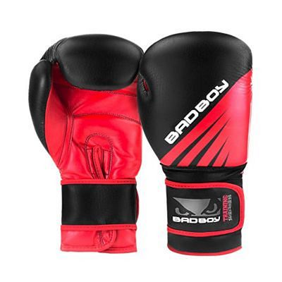 Bad Boy Training Series Impact Boxing Gloves Negro-Rojo
