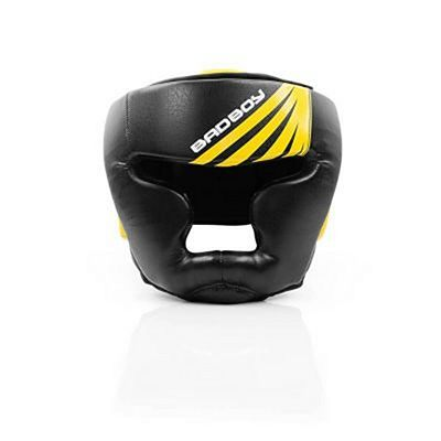 Bad Boy Training Series Impact Full Headguard Svart-Gul