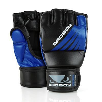 Bad Boy Training Series Impact MMA Gloves Negro-Azul