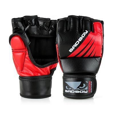 Bad Boy Training Series Impact MMA Gloves Negro-Rojo