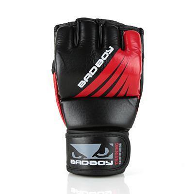 Bad Boy Training Series Impact MMA Gloves Black-Red