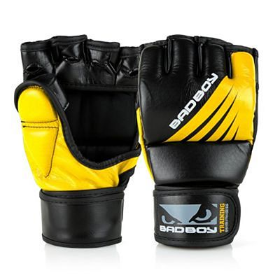 Bad Boy Training Series Impact MMA Gloves Negro-Amarillo