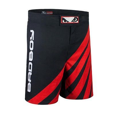 Bad Boy Training Series Impact MMA Shorts Schwarz-Rot