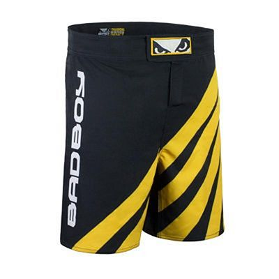 Bad Boy Training Series Impact MMA Shorts Negro-Amarillo