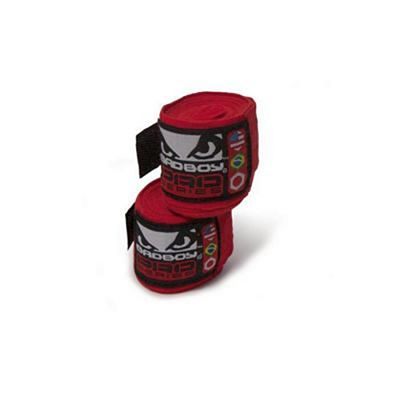 Bad Boy Hand Wraps Stretch 255cm Rot