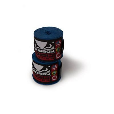 Bad Boy Hand Wraps Stretch 350cm Blau