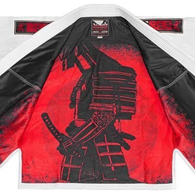 Bad Boy Warrior BJJ Gi Limited Edition Weiß